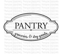 Pantry Groceries And Dry Goods SVG