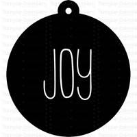 Farmhouse Christmas Gift Tags SVG