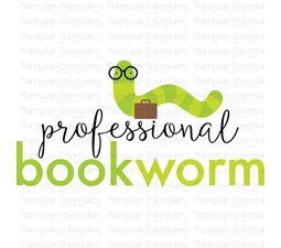 Professional Bookworm SVG