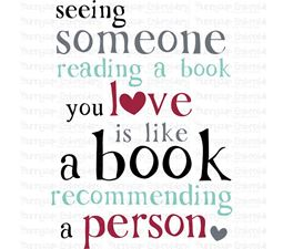 See Someone Reading a Book You Love SVG