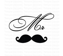 Mr Mustache SVG