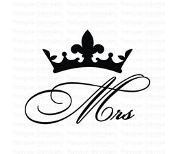Mrs Crown SVG