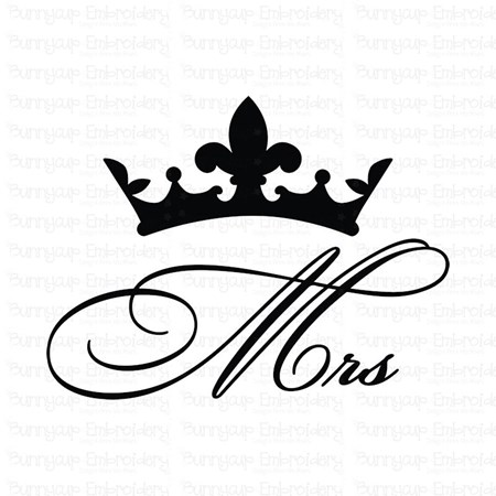 Mr and Mrs 12 SVG