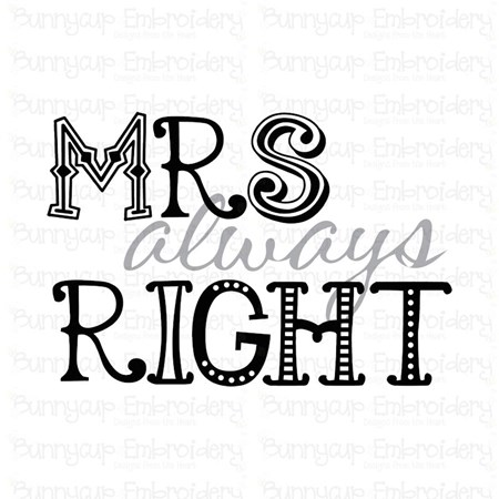 Mr and Mrs 4 SVG