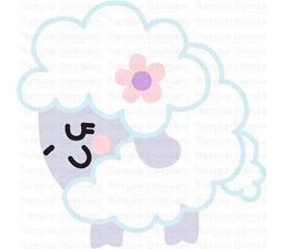 Round Sheep SVG