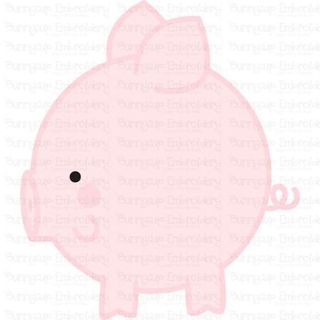 Round Animals 4 SVG
