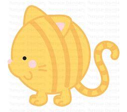 Round Cat SVG