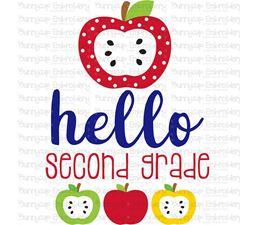 Hello Second Grade SVG