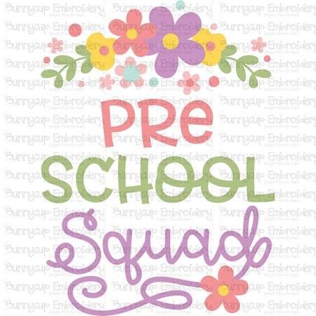 Preschool Squad SVG - Bunnycup SVG