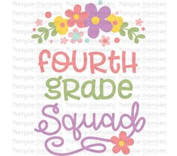 Fourth Grade Squad SVG
