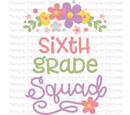 Sixth Grade Squad SVG