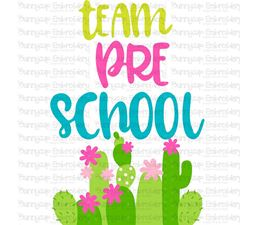 Team Preschool SVG