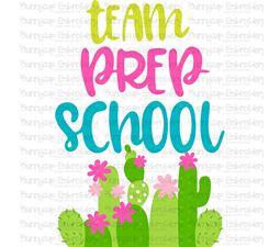 Team Prep School SVG