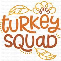 Thanksgiving Sentiments Five SVG