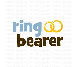 Ring Bearer SVG