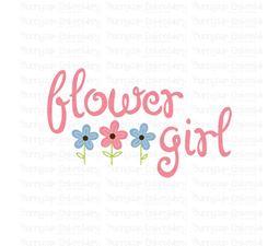 Flower Girl SVG