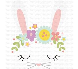 Bunny Face SVG