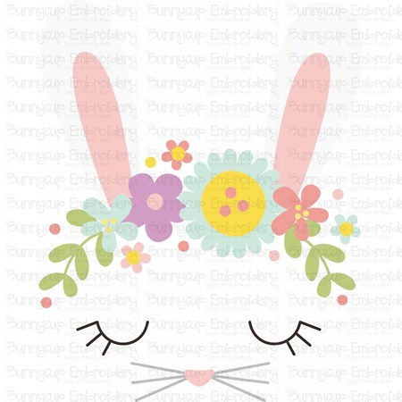 Bunny Face SVG