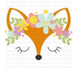 Fox Face SVG