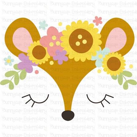 Deer Face SVG