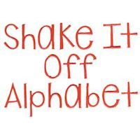 Embroidery Design Set - Shake It Off Alphabet