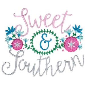 Embroidery Design Set - Southern Girl 2