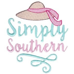 Embroidery Design Set - Southern Girl 4