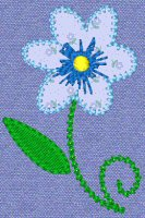 Sweet Spring Applique 7