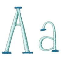 Embroidery Design Set - Stand Tall Alphabet
