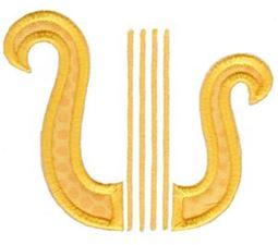Sweet Greek Alphabet Applique Add On 10