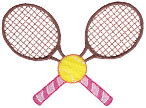 Machine Embroidery Designs Tennis Bunnycup Embroidery