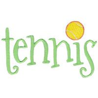 Embroidery Design Set - Tennis