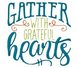 Gather With Grateful Hearts