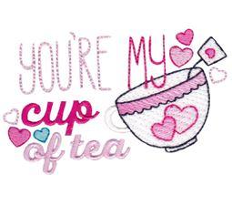 Your My Cup Of Tea Sketch