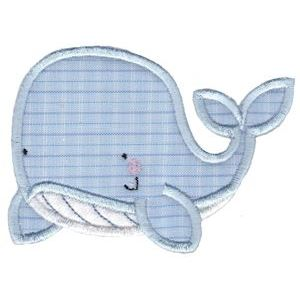 Embroidery Design Set - Whales and Sharks Applique 1