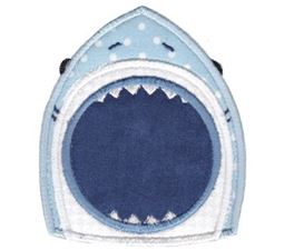 Whales and Sharks Applique 11