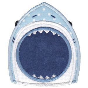 Embroidery Design Set - Whales and Sharks Applique 11