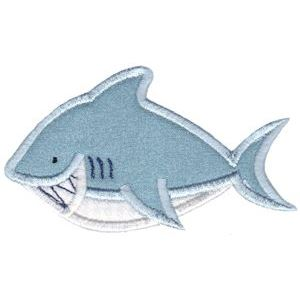 Embroidery Design Set - Whales and Sharks Applique 9