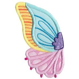 Embroidery Design Set - Wings Applique 12
