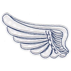 Embroidery Design Set - Wings Applique 3