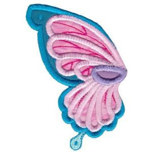 Embroidery Design Set - Wings Applique 5