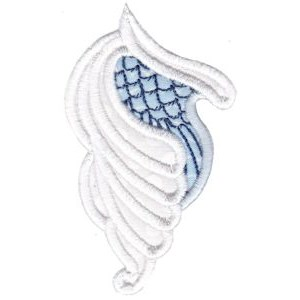 Embroidery Design Set - Wings Applique 6