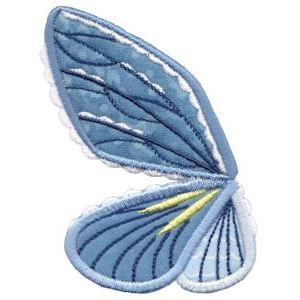 Embroidery Design Set - Wings Applique 8