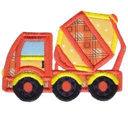 Cement Truck Applique