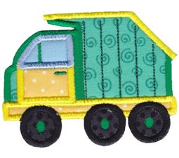 Recycle Truck Applique
