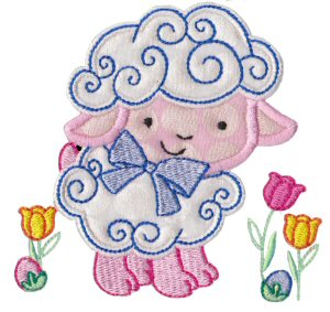 A Cute Easter Applique 4