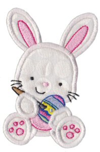 A Cute Easter Applique 7