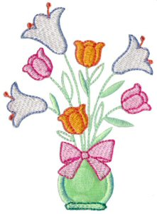 A Cute Easter Applique 8