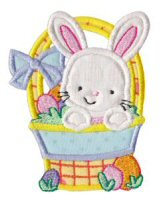 A Cute Easter Applique