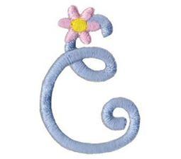 A Daisy Day Alphabet Character 10